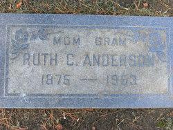 Ruth C <i>Wagstaff</i> Anderson