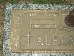 J W Alexander
