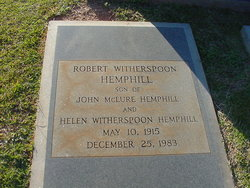 Robert Witherspoon Hemphill