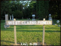 West Clarno Pioneer Cemetery