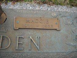 Sarah Maggie Nola <i>Finchum</i> Breeden