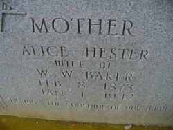 Alice Hester <i>Laramore</i> Baker