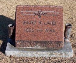 Irene Nellie <i>Boehning</i> Land