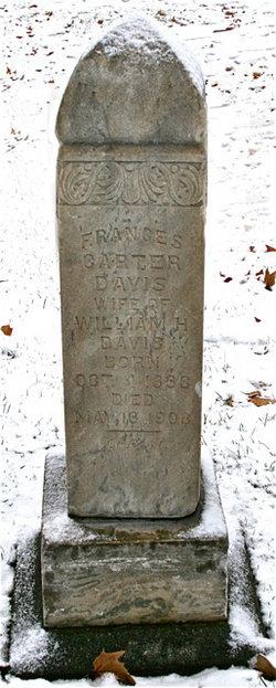 Frances Fanny <i>Nash</i> Carter--Davis