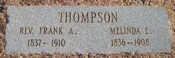 Melinda Elizabeth Malinda <i>Otwell</i> Thompson