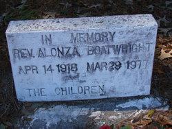 Rev Alonza Boatwright