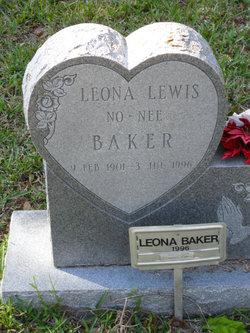 Leona <i>Lewis</i> Baker