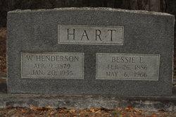 Bessie E. <i>Rigdon</i> Hart