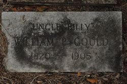 Pvt William P Uncle Billy Gould