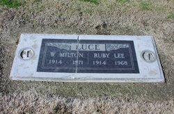 Ruby Lee <i>Cook</i> Luce