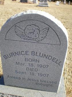 Burnice Blundell