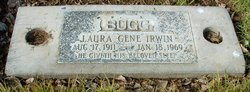 Laura Gene <i>Irwin</i> Bugg
