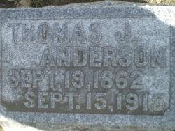 Thomas J Anderson