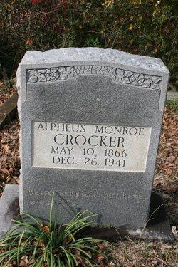 Alpheus Monroe Crocker