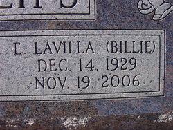 E. Lavilla Billie <i>Wells</i> Phillips