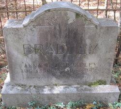 Anna Augusta <i>Odom</i> Bradley