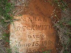 Sarah <i>Wilcox</i> Beckwith