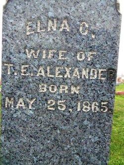 Elna C <i>Stringer</i> Alexander
