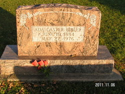 Ada Glenn <i>Caster</i> Bibler