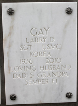 Sgt Larry D. Gay