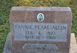 Fannie Pearl Allen