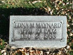 Edna M. <i>Knopp Foland</i> Maynard
