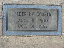 Elder I. C. Cooper