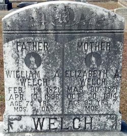 Elizabeth Ann <i>Davidson</i> Welch