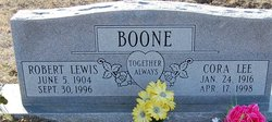 Cora Lee <i>McCarty</i> Boone