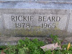 Rickie J. <i>Fudge</i> Beard