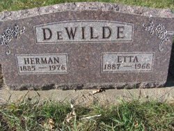 Etta <i>Tammen</i> DeWilde