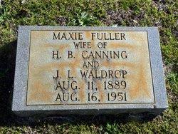 Maxie <i>Fuller</i> Canning