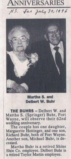 Martha S Buhr