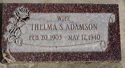 Thelma <i>Stonebraker</i> Adamson