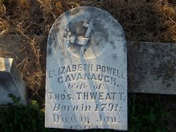 Elizabeth Powell <i>Cavanaugh</i> Thweatt