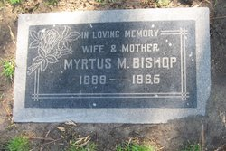 Myrtus Mae <i>Jamerson</i> Bishop