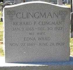 Edna <i>Ward</i> Clingman