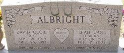 Leah Jane <i>Hardin</i> Albright