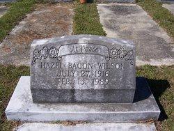 Hazel <i>Bacon</i> Wilson