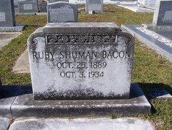Mary Ruby <i>Shuman</i> Bacon