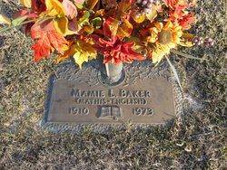 Mamie Lee <i>Mills</i> Baker