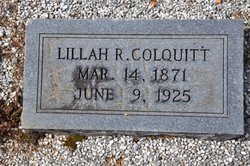Lillah R Colquitt