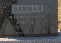 Abram K Banman