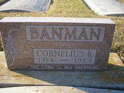 Cornelius K Banman