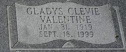 Gladys Clevie <i>Valentine</i> Bankston