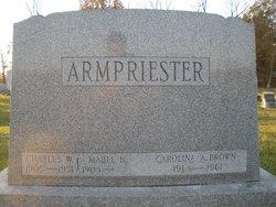 Charles W Armpriester