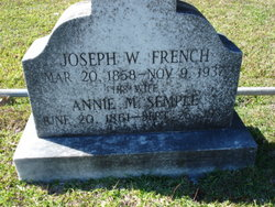Annie M. <i>Semple</i> French