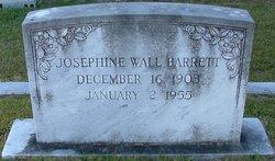 Josephine <i>Wall</i> Barrett