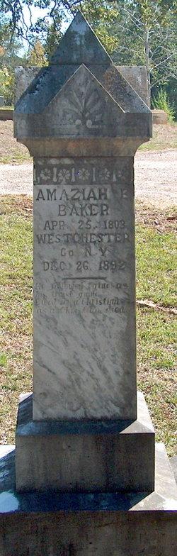 Amaziah E. Baker
