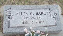 Alice K. Barry